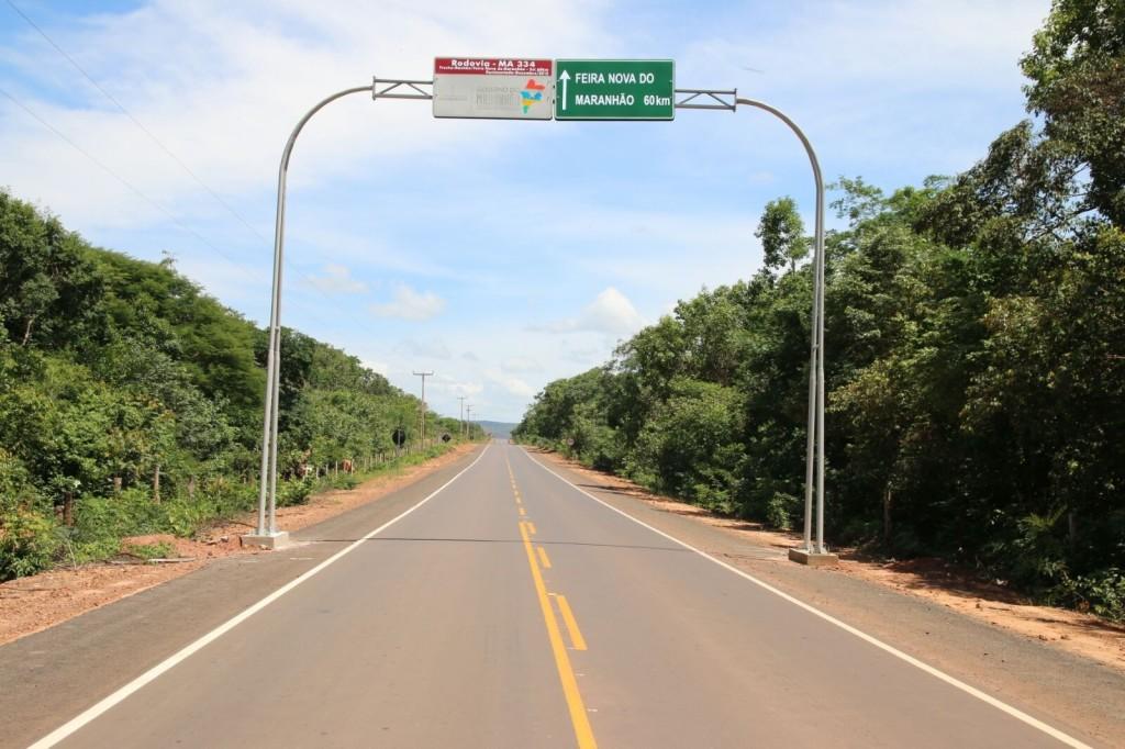 """Feira Nova do MA, outra obra iniciada por outros governos, """"inaugurada"""" pelos comunistas"""