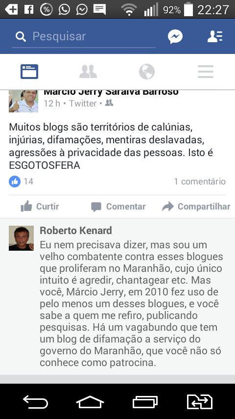 Jerry interpelado por jornalista