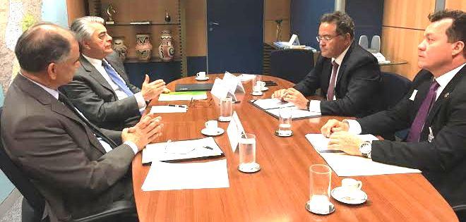 Roberto Rocha no Ministério do Turismo…