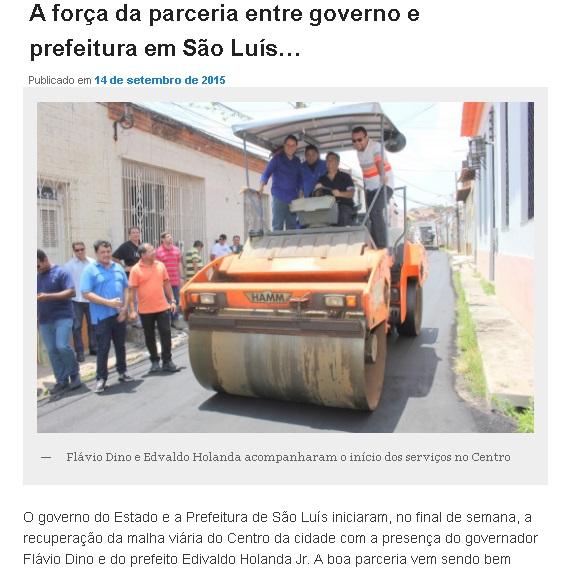 Máquina do governo sendo suada nas eleições atropelando candidatos e a democracia...