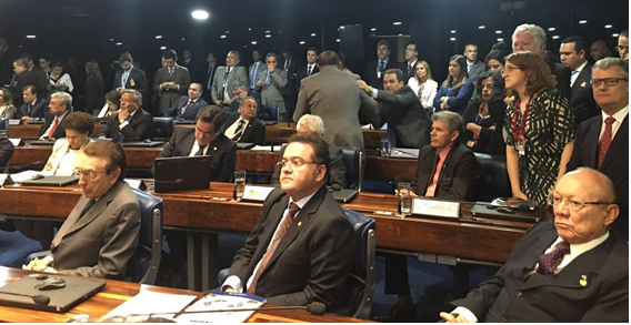 ancada maranhense no Senado Federal atuando unida em favor do estado.