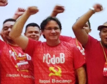 Vice de Edivaldo é um comunista sindicalista do Simproessema.